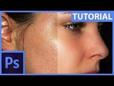 Rychlá retuš obličeje – Quick tip – Photoshop CZ tutorial Adobe Photoshop, Tips, Youtube, Youtubers, Youtube Movies, Hacks