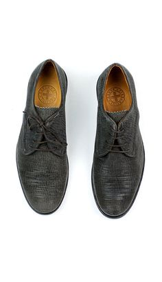 e84d4f11431 Fiorentini and Baker oxford with a sleek low profile and textured leather  that has been scored