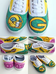 Custom Canvas Shoes by punkprojects on Etsy