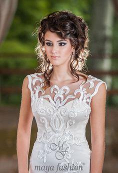 One Shoulder Wedding Dress, Wedding Dresses, Unique, Fashion, Bride Dresses, Moda, Bridal Gowns, Alon Livne Wedding Dresses, Fashion Styles