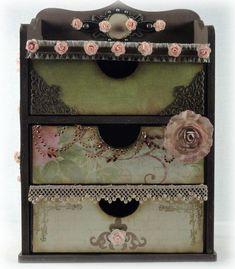 Kaiser Craft Storage Chest | Tara's Craft Studio