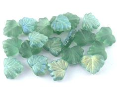 Glass - Czech - Shop by Color - Turquoise Blue Beads, Czech Glass Beads, Art Supplies, Mango, Turquoise, Color, Manga, Green Turquoise, Colour