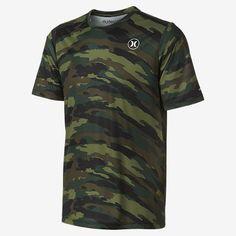 Hurley Dri-FIT Icon Camo Men's Surf Shirt. Nike.com