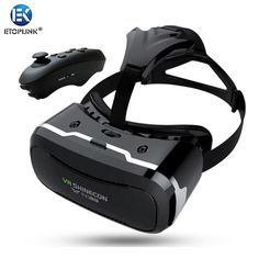 Find More 3D Glasses/ Virtual Reality Glasses Information about Newest VR Shinecon II 2 2.0 Virtual Reality Helmet 3D Box IMAX Glasses Video Theater for 4.7 6 inch Phone+Bluetooth Gamepad 5.0,High Quality box capacitor,China box wash Suppliers, Cheap glasses clock from Guangzhou Etoplink Co., Ltd on Aliexpress.com