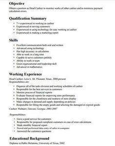 cashier job description resume httpgetresumetemplateinfo3440cashier - Cashier Job Description Resume