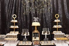 Featured Photographer: Susie Marie Photography; wedding reception dessert bar; This article was produced in collaboration with Be Inspired PR.