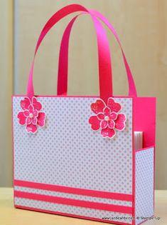 JanB Handmade Cards Atelier: Kelly's Box Bag Video - Version 2