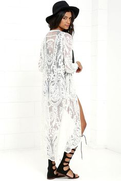 You'll look sweet enough to eat in the I. Madeline Sugar-Coated Ivory Lace…