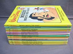 Walt Disney Fun to Read Library Volumes 1 Through 13 in Very Good Condition | eBay