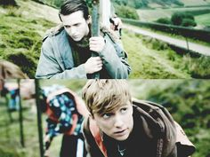 Simon and Kieren when they first started to connect :) Bbc Tv Series, In The Flesh, Connect, Fictional Characters, Fantasy Characters