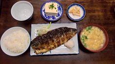 [I ate] Grilled Mackerel Set (Fukuoka Japan) http://ift.tt/2iK97qP #TimBeta