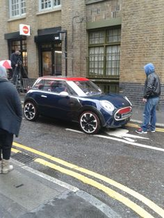 Mini Rocketman Concept Car