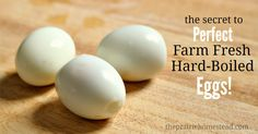 The Easy Way to Peel Farm-Fresh Hard-Boiled Eggs