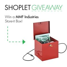 giveaway blog mmf Win a MMF Industries Store it Box!