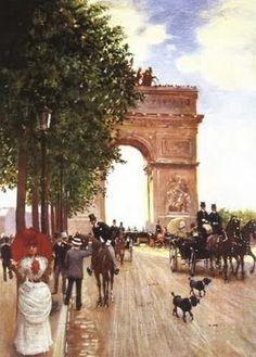 L'arc de Triomphe BERAUD
