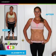 Check out this Isagenix Success Story! Congratulations to Elizabeth B., one of our Top 10 New Year Kick Off IsaBody Challenge Honorees, on her outstanding results!