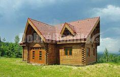 Fotka #1: Ponúkame na predaj zaujímavý zrub pred dokončením v obci Hnilčík.