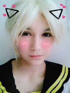 Propiedad de Shimoda Len. ¡Es un Cosplay hecho por fan! (´・ω・`)  #KagamineLenV4x