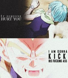 DBZ Battle of the Gods / Vegeta and Bulma