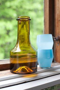 Vihreä talo: Vintagea kaappien kätköistä: Kumelan lasin Sirkku