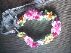 flowercrown tanpa kawat