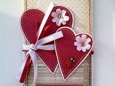 МК по изготовлению открытки-валентинки - Ярмарка Мастеров - ручная работа, handmade