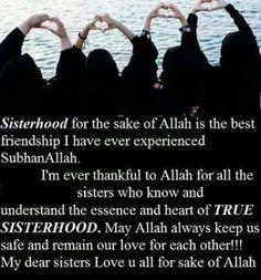 Sisterhood..islam