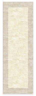 Feizy Rugs Feizy Settat Border 2-Foot 10-Inch x 7-Foot 10-Inch Runner in Cream/Grey