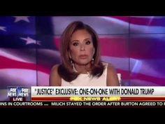 Democrats Suck! Donald Trump Interview: Judge Jeanine Opening Statement 8/20/16 - YouTube