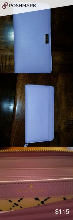 Kate Spade Light Lavender Wallet reg retail 198 Excellent condition barley any signs of wear Bags Wallets