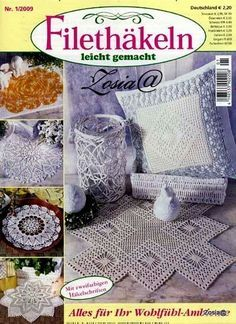 View album on Yandex. Crochet Book Cover, Crochet Books, Thread Crochet, Crochet Chart, Filet Crochet, Knit Crochet, Crochet Patterns, Crochet Dollies, Crochet Instructions