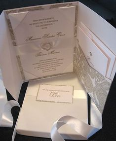 Elegant wedding invitations with Swarovski crystals Bridal Invitations, Luxury Wedding Invitations, Wedding Stationary, Wedding Invitation Cards, Wedding Cards, My Perfect Wedding, Our Wedding, Dream Wedding, Elegant Wedding