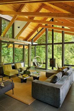 Stunning riverside house renovation in the Chagrin Valley by Peninsula Architects