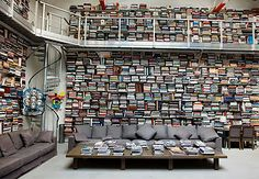 Forget being a clepto...I want to be a book hoarder.