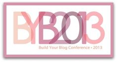 Come enter to win a ticket to the Build Your Blog Conference! BuildYourBlogConference.com