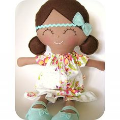 'Clover' ~ Little Sunshine Doll by Cuckoo For Coco