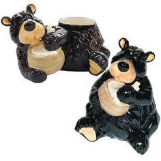 Perfect tool slurping bears