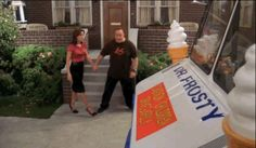 """When Doug had the """"bright"""" idea of buying an ice cream truck and Carrie still supported him. King Of Queens, Relationship Goals, Carry On, Favorite Tv Shows, Carrie, Truck, Ice Cream, Bright, Advent Calenders"""
