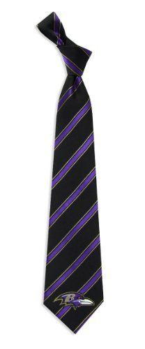 Eagles Wings Baltimore Ravens Woven Tie by Eagles Wings. $17.95. Stay true to your team when you're out on the town by wearing this woven polyester neck tie from Eagles Wings®. It's accented with team-colored stripes and embellished with the team logo on the front.