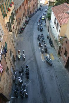 * Siena, Itália.