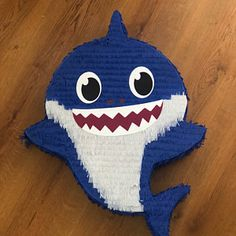 This super adorable Baby Shark pinata is perfect for your little ones birthday! Each Baby Shark pinata is handmade so please allow for small differences. Baby Boy 1st Birthday, 3rd Baby, Boy Birthday Parties, Peppa Pig Pinata, Shark Party Decorations, Birthday Pinata, Cute Baby Cats, Baby Shark, Etsy