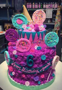 Marvelous 194 Best Little Girl Birthday Cakes Images In 2020 Little Girl Personalised Birthday Cards Veneteletsinfo