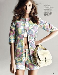 Daniela Mirzac - Glamour UK - May 2012 Models #editorial #magazine