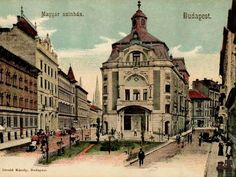 Old Hungarian Theatre Old Pictures, Old Photos, Vintage Photos, Vintage Architecture, Central Europe, Interesting History, Budapest Hungary, Historical Photos, Taj Mahal