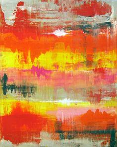 "Saatchi Online Artist Petra Lang; Painting, ""Abstract No. 155"" #art"