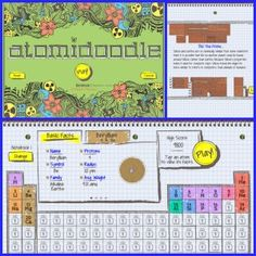 Gas properties use this java app to demonstrate the properties of atomidoodle a fun app to help reinforce math skills and learn about the periodic table urtaz Images