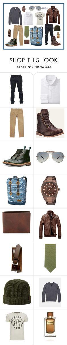 """Packing Light Weekend Away"" by krisunshine21 on Polyvore featuring Yves Saint Laurent, J.Crew, Tricker's, Ray-Ban, Dakine, Banana Republic, Salvatore Ferragamo, True Religion, Superdry and Dolce&Gabbana"
