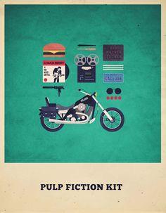 Movies Hipster Kits - Pulp Fiction