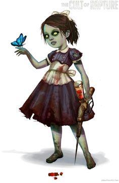 Bioshock artwork the little sister