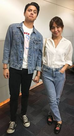 bday of Cassy and Mavy Legaspi - January 2019 © Celebrity Fashion Outfits, Fashion Models, Celebrities Fashion, Kathryn Bernardo Outfits, Daniel Padilla, Cute Couples Goals, Ootd, Denim Outfit, Indian Fashion